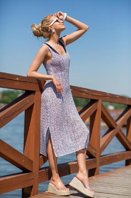 FOBYA  F1254 Платье Selenit оптом