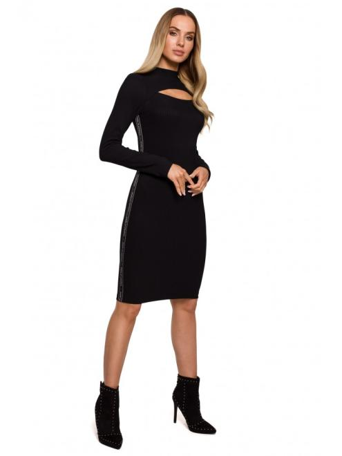 MOE  M606 платье миди czarna оптом