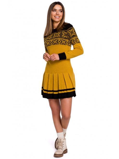 MOE  MXS01 Платье Желтый оптом