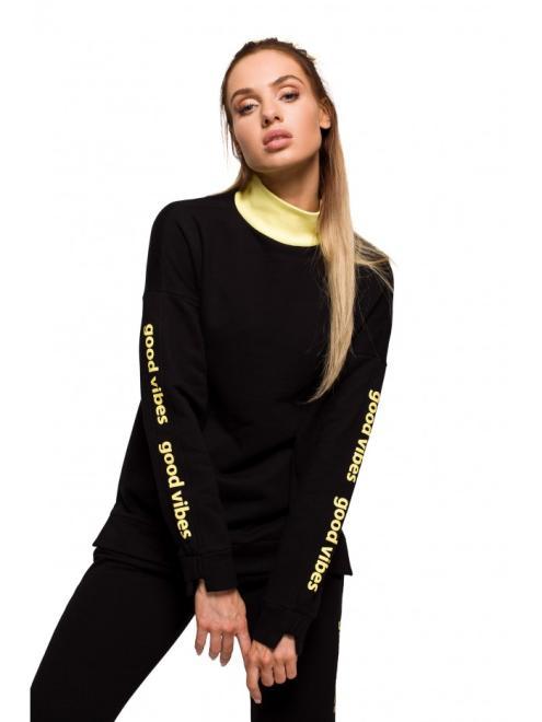 MOE  M620 блуза czarna оптом