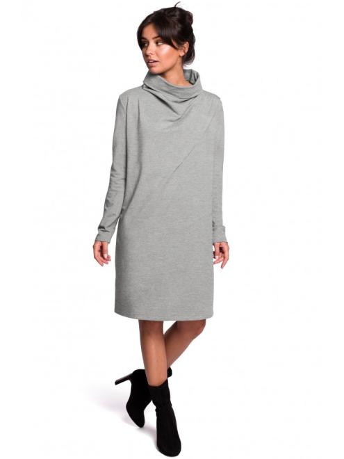 BE  B132 Платье Серый оптом