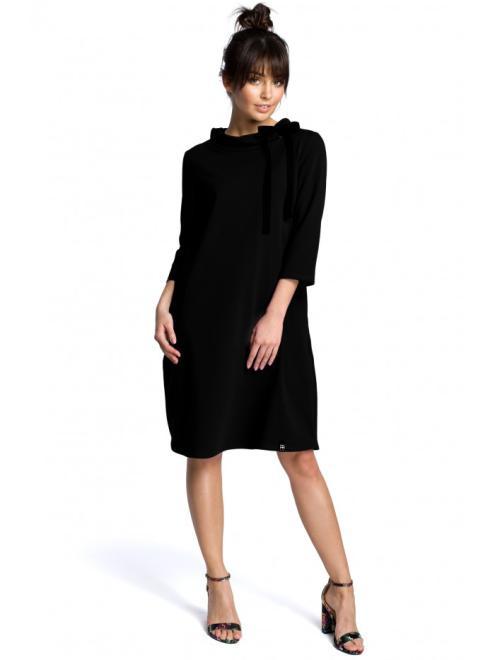 BE  B070 Платье Черный оптом