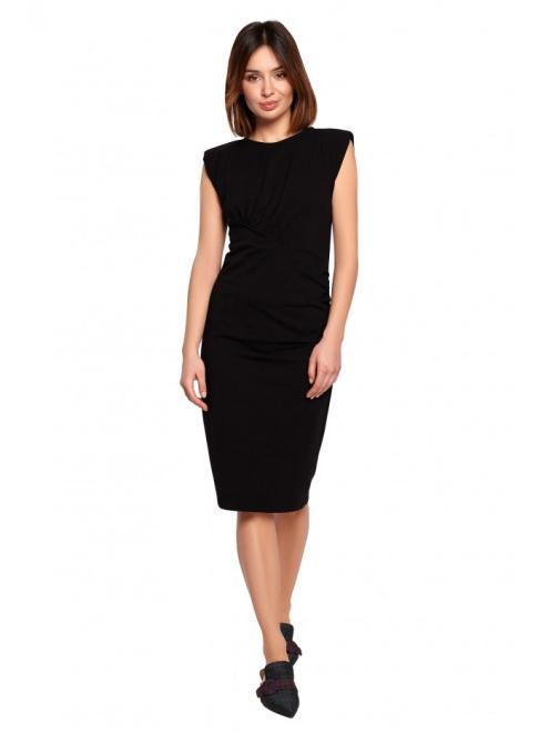 BE  B193 Платье Черный оптом