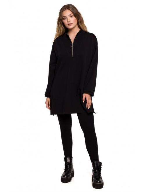 BE  B201 блуза туника czarna оптом