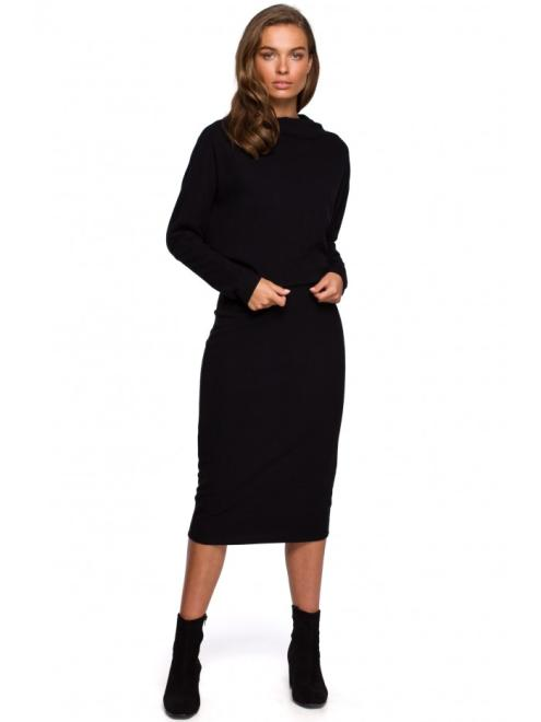 Style  S251 Платье Черный оптом