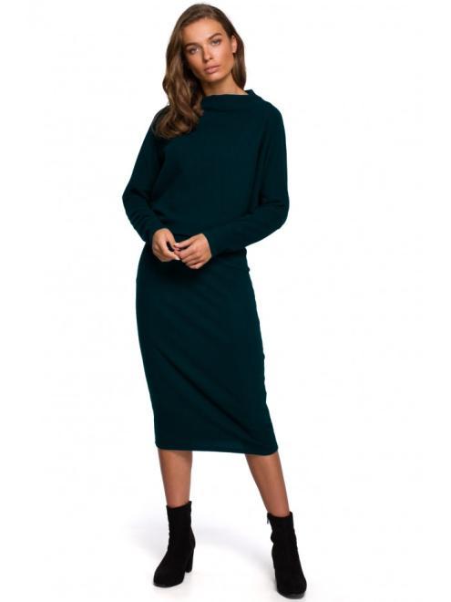 Style  S251 Платье CIEMNOZIELONA оптом
