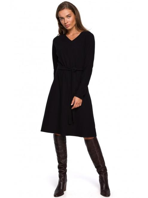 Style  S250 Платье Черный оптом