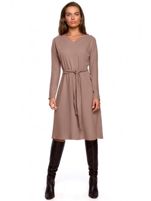 Style  S250 Платье Каппучино оптом