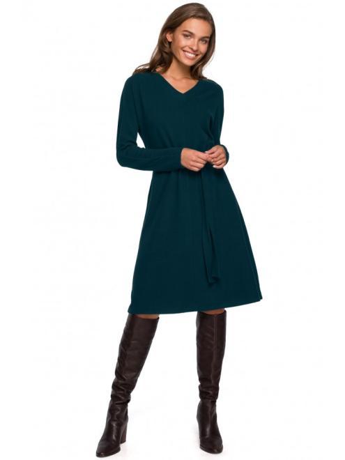 Style  S250 Платье CIEMNOZIELONA оптом