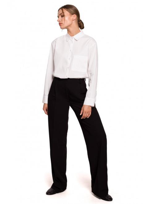 Style  S283 брюки Черный оптом