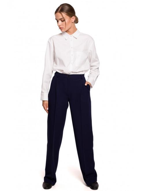 Style  S283 брюки Темносиний оптом