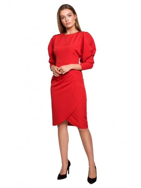 Style  S284 Платье Красный оптом