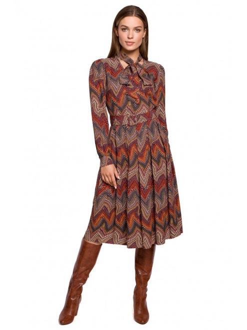 Style  S289 платье wzór aztecki оптом