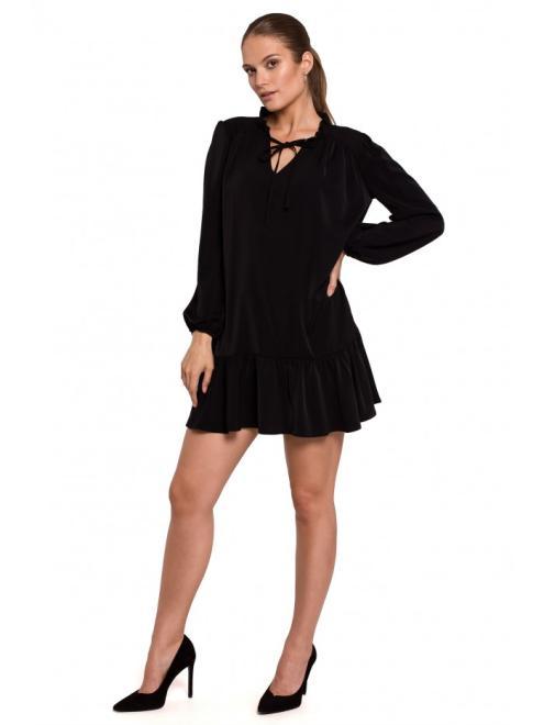 Makover  K120 платье czarna оптом