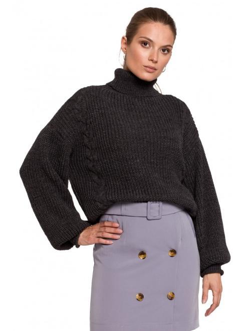 Makover  K124 свитер Графит оптом