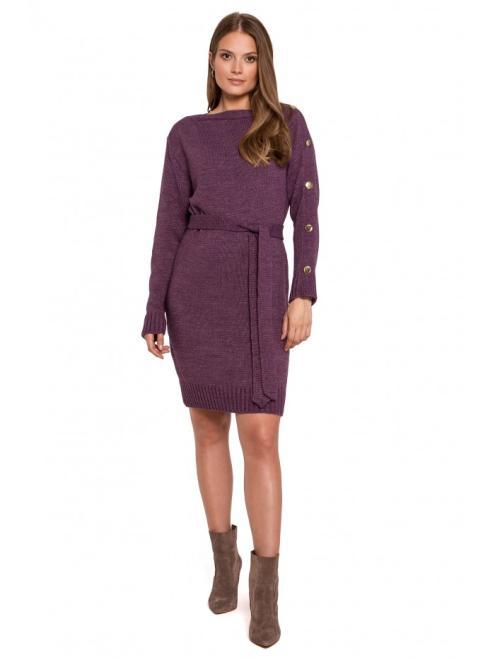 Makover  K123 платье Фиолетовый оптом