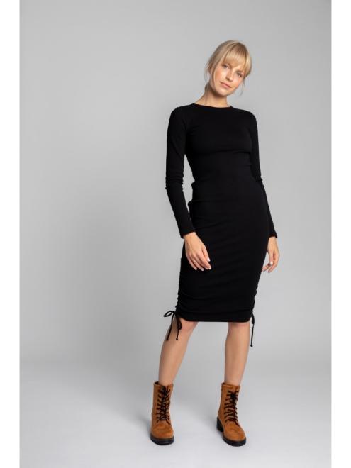 LaLupa  LA039 Платье Черный оптом