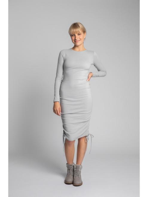 LaLupa  LA039 Платье пепельный оптом