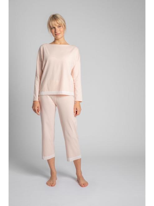 LaLupa  LA040 Блузка от пижамы Brzoskwiniowy оптом