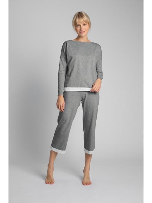 LaLupa  LA040 Блузка от пижамы Серый оптом