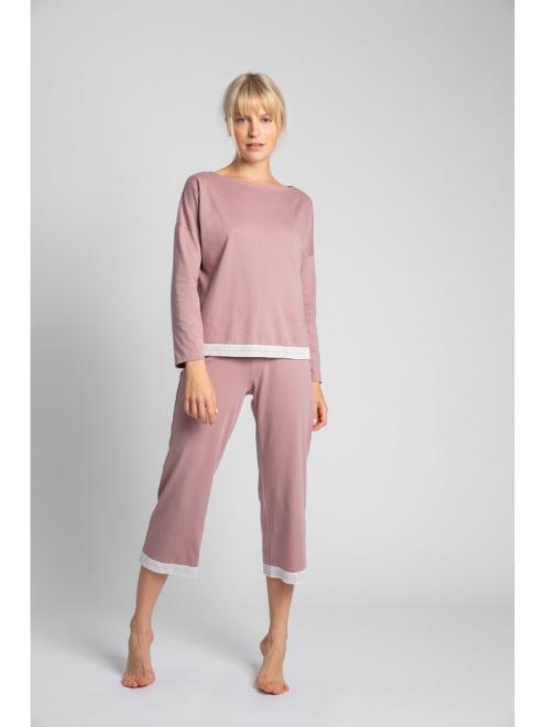 LaLupa  LA040 Блузка от пижамы wrzosowy оптом