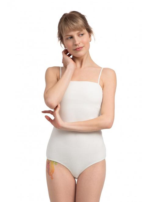 LaLupa  LA063 Body na cienkich ramiączkach Экри оптом