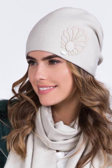 Kamea  Czapka Damska Model Malwa Beige - Kamea 149838 шапка Бежевый оптом