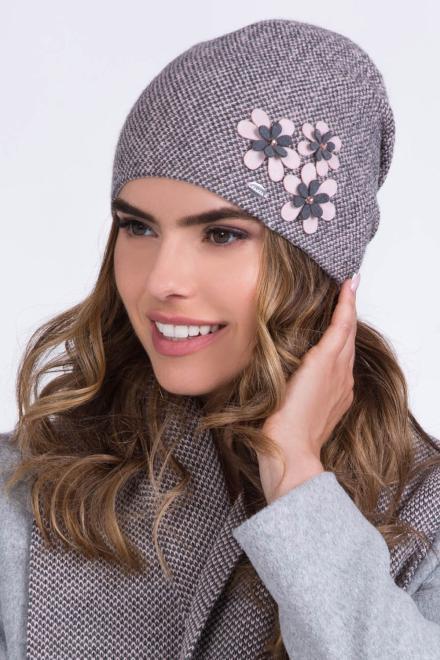 Kamea  Czapka Damska Model Lusi Light Pink - Kamea 149839 шапка Розовый оптом