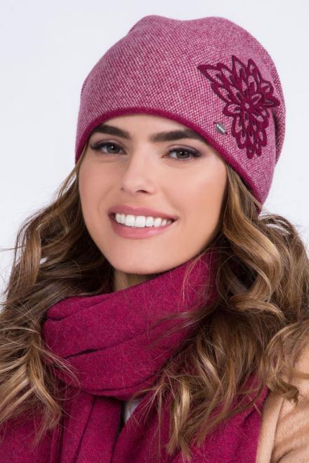 Kamea  ~Czapka model 149852 Kamea шапка Розовый оптом