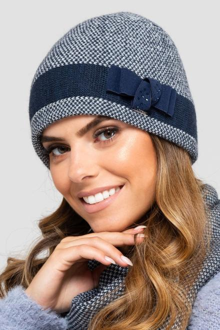 Kamea  ~Czapka model 149854 Kamea шапка Темносиний оптом