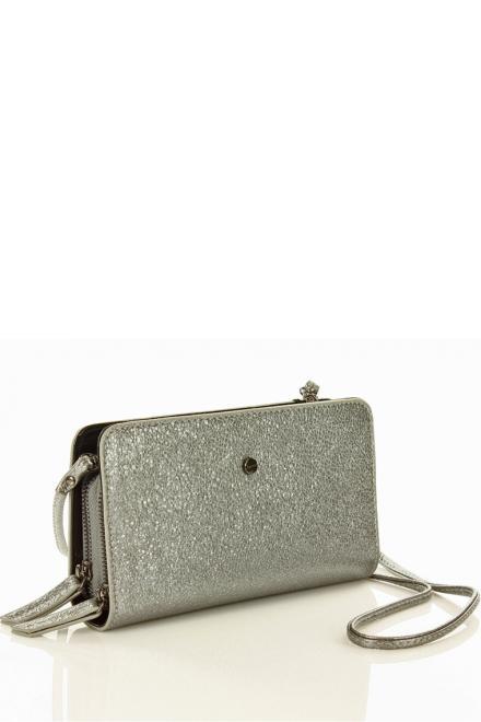 Monnari  Elegancka torebka wizytowa kopertówka B480B Silver - Monnari 128074 Сумка-конверт Серый оптом