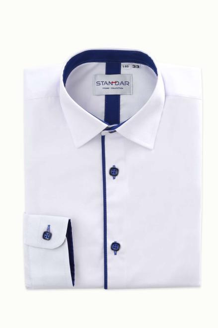 STANDAR  koszula biala M6 Рубашка с рис  оптом