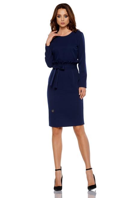 Lemoniade  1 Sukienka  L289 granatowy PROMO Платье Темно-синий оптом