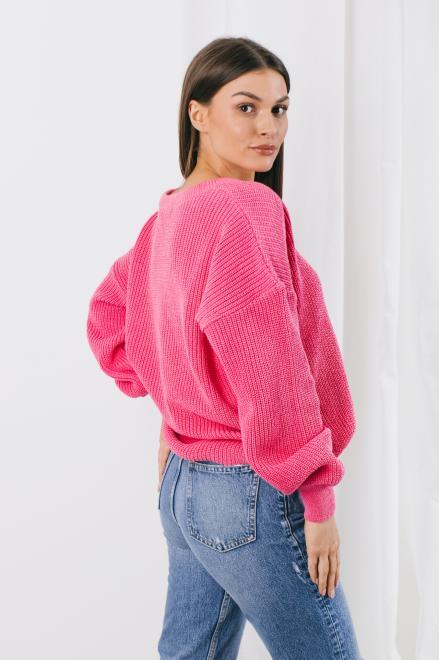 Lemoniade  Sweter LS328 diva pink Свитер diva pink оптом