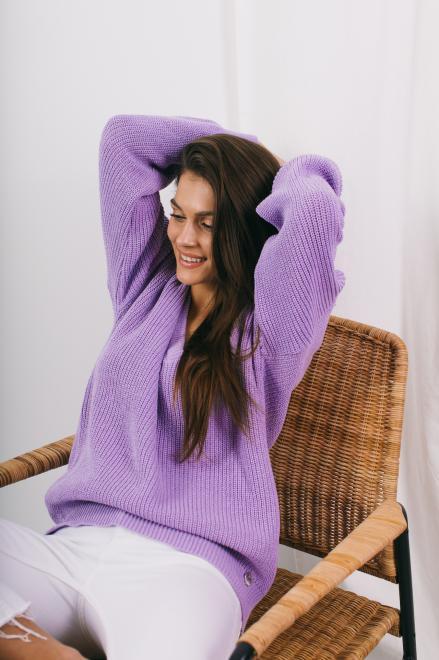 Lemoniade  Sweter LS328 lila Свитер LILA оптом