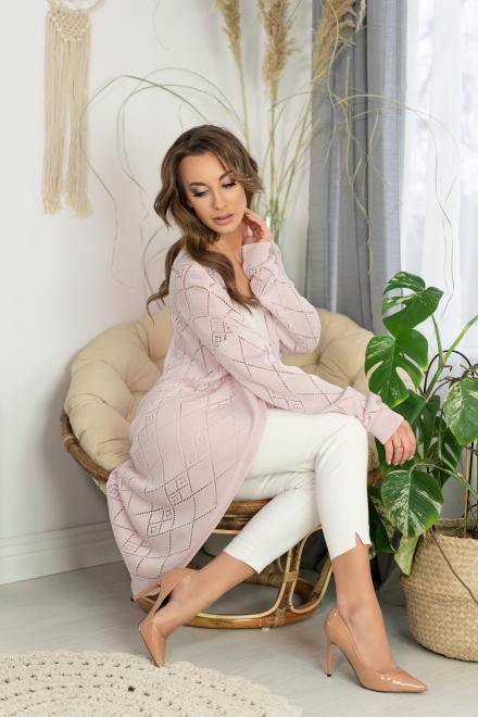 Merribel  Loriga Light Pink sweter Свитер как на фото оптом