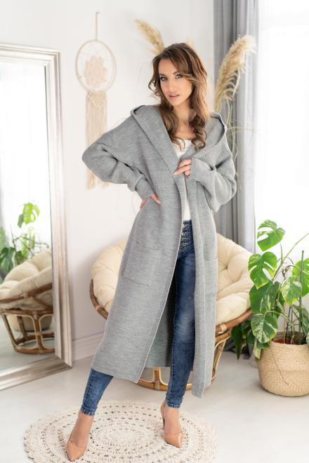Merribel  Renum Grey sweter Свитер как на фото оптом
