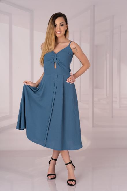 Merribel  Molinen Blue D04 sukienka Платье BLUE оптом