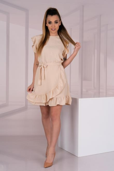 Merribel  Keema Beige D06 sukienka Платье BEIGE оптом