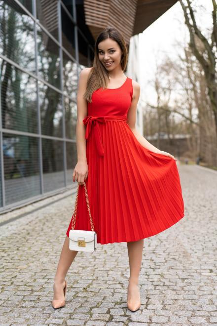 Merribel  Meratin Red D07 sukienka Платье red оптом
