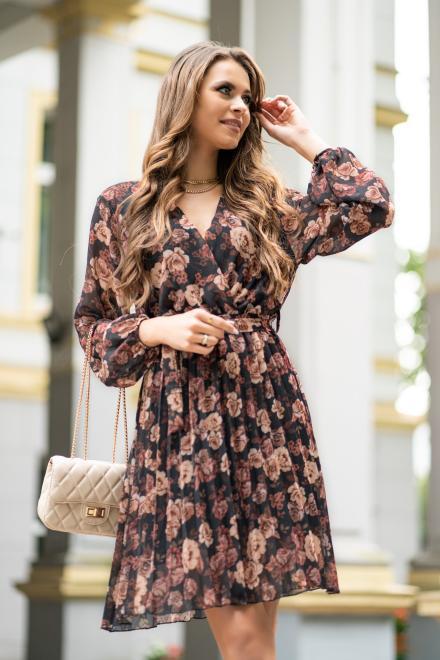 Merribel  Barunna sukienka Платье коричневый оптом