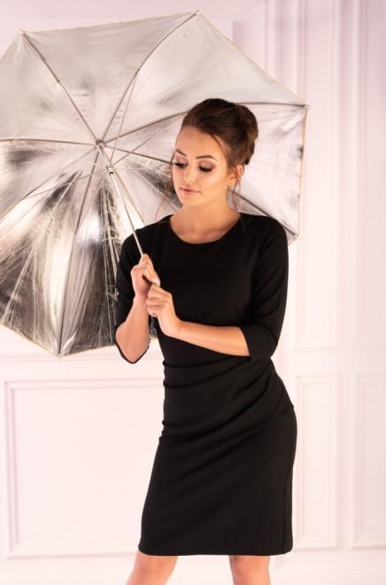 Merribel  Shanyan Black sukienka Платье черный оптом