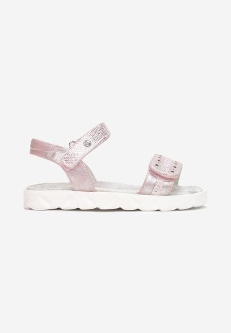 Multu  Różowe Sandały Pasiro Летняя обувь Розовый оптом