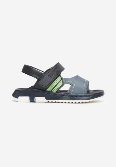 Multu  Niebiesko-Zielone Sandały Athiloc Летняя обувь Голубой оптом