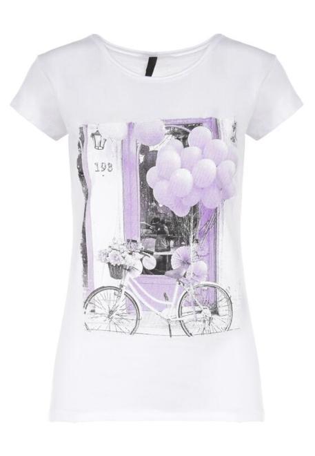 Multu  Biały T-shirt Gallu Блузка Белый оптом