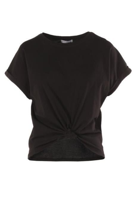 Multu  Czarny T-shirt Phydent Блузка Черный оптом