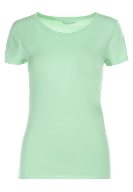 Multu  Jasnozielony T-shirt Rogin Блузка Зеленый оптом