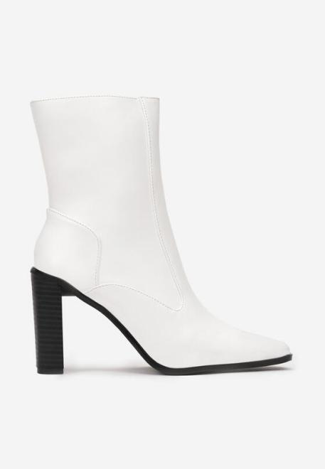 Multu  Białe Botki Gathea Ботинки Белый оптом