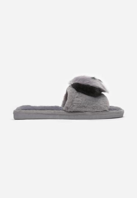 Multu  Szare Kapcie Pasit Домашняя обувь Серый оптом