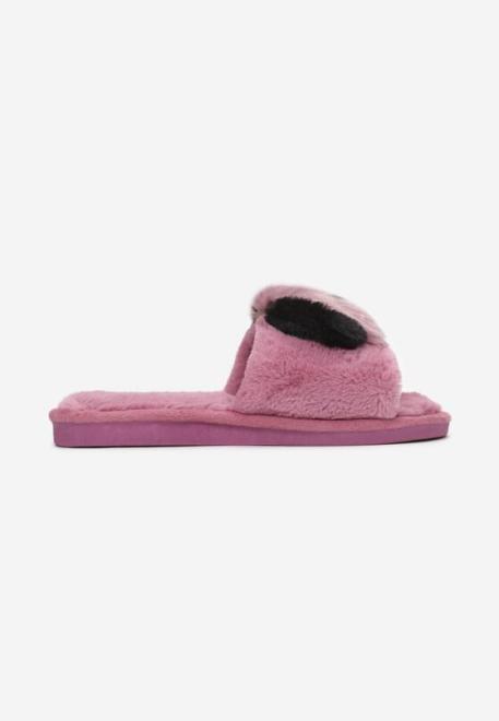 Multu  Fioletowe Kapcie Pasit Домашняя обувь Фиолетовый оптом